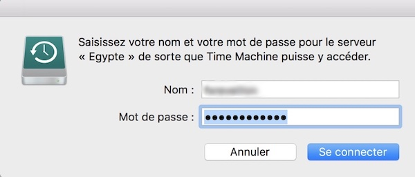 nom time machine nas - Tuto - Time Machine et NAS Synology