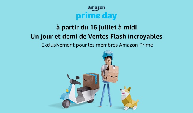 prime day 2018 - [Brève] Prime day... c'est parti !
