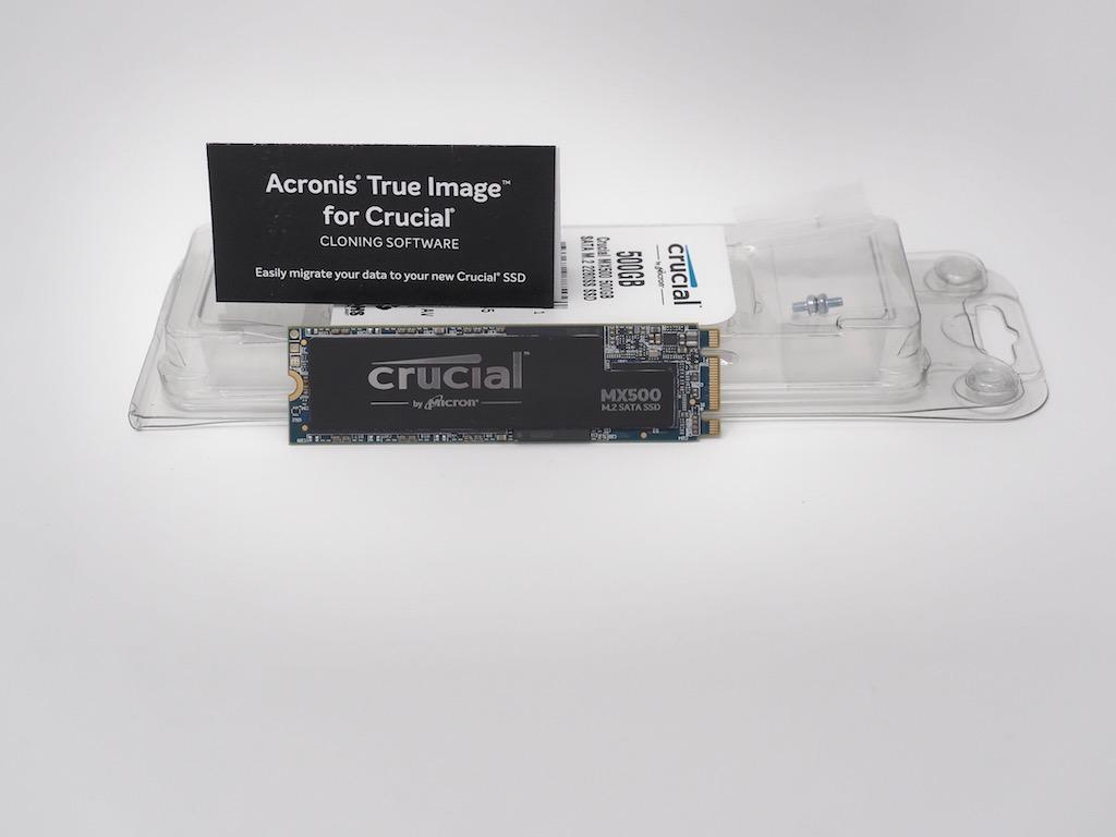 test Crucial mx500 m2 - Test Crucial M500 M.2 500 Go