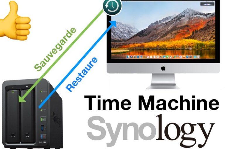 time machine synology 770x513 - Tuto - Time Machine et NAS Synology