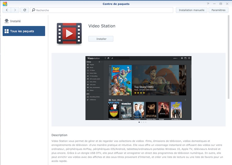 video station synology - Regarder films et séries du NAS Synology sur sa TV