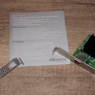 Aquantia AQN 170 2 390x390 - Test Aquantia AQN-107 carte réseau 10 Gbit/s