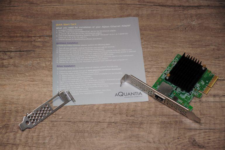 Aquantia AQN 170 2 770x513 - Test Aquantia AQN-107 carte réseau 10 Gbit/s