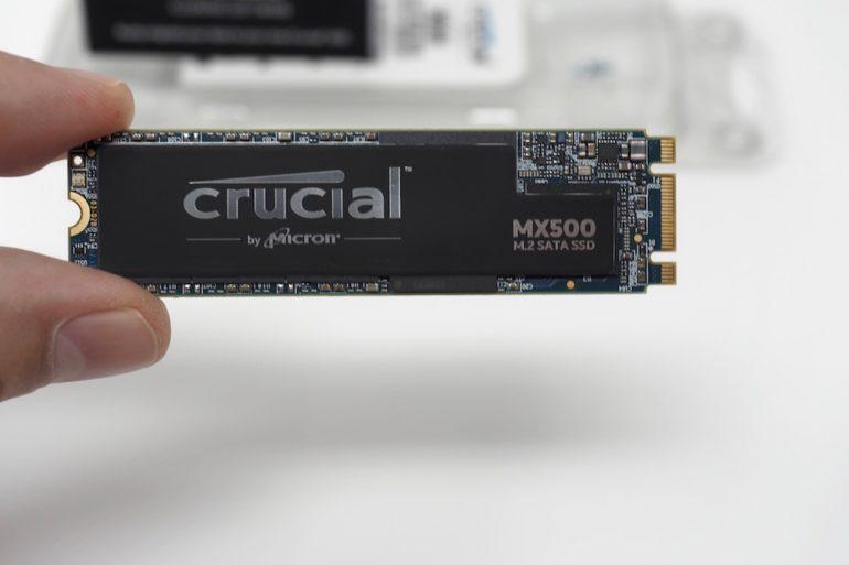 Crucial M2 test 770x513 - Test Crucial M500 M.2 500 Go