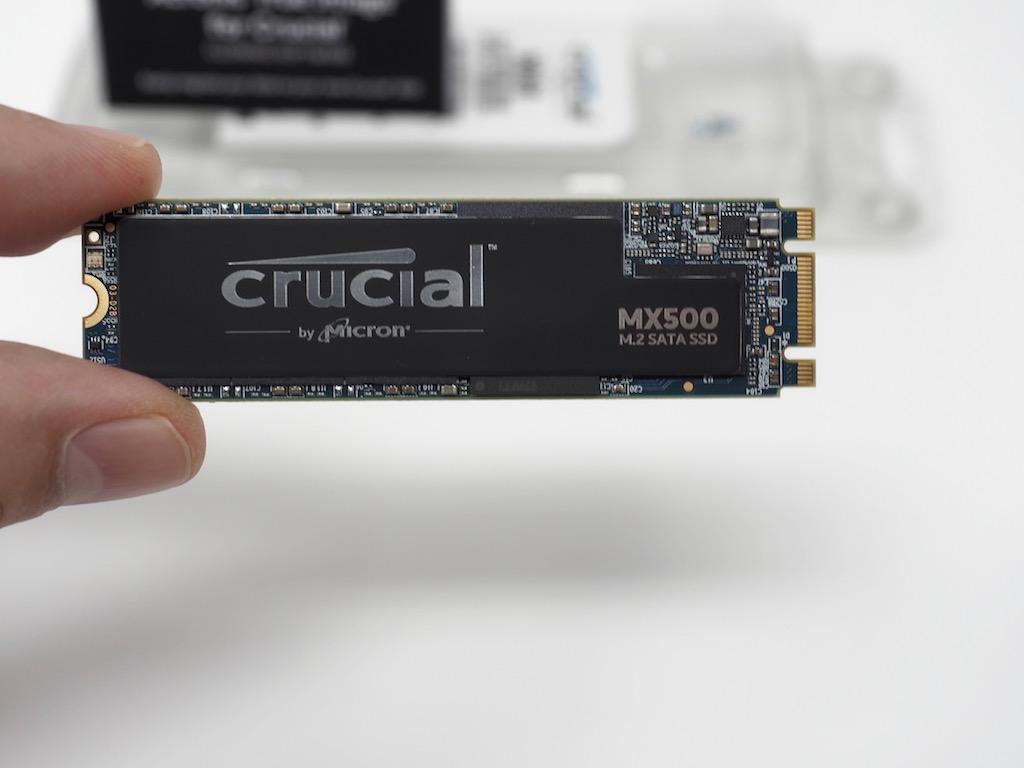 Crucial M2 test - Test Crucial M500 M.2 500 Go