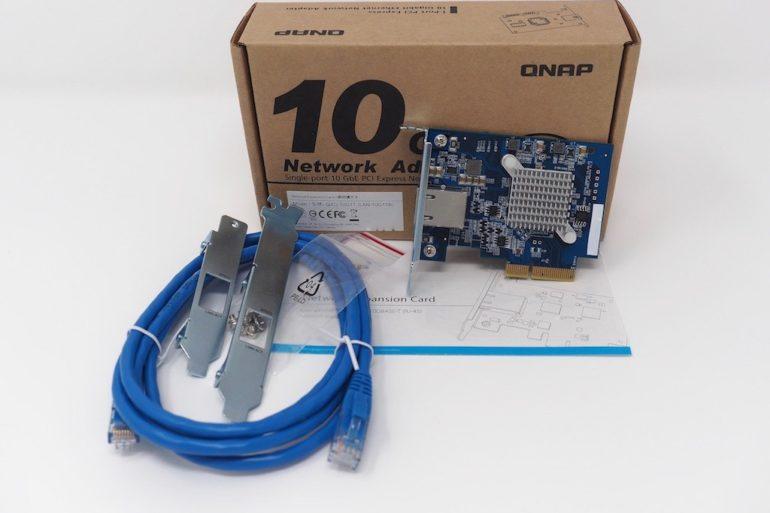 QNAP QXG 10G1T 770x513 - QNAP QXG-10G1T - Test de la carte réseau 10 Gbits/s
