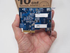 QNAP QXG 10G1T arriere 300x225 - QNAP QXG-10G1T - Test de la carte réseau 10 Gbits/s