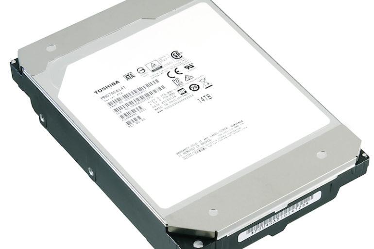Toshiba MN07 14To 770x513 - Toshiba 12 To et 14 To avec hélium pour les NAS (MN07)