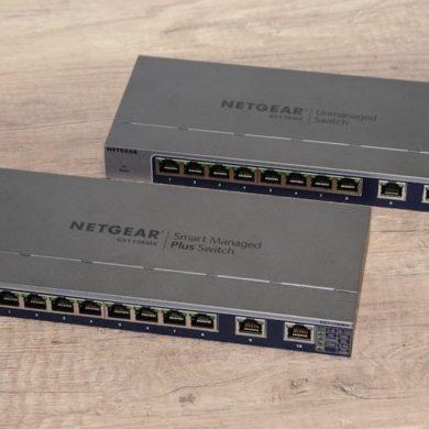 test netgear switch 390x390 - Test de 2 switches Netgear 10 Gbit/s