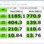 CrystalDiskMark 150x150 - Test du switch QNAP : QSW-1208-8C (10 Gbit/s)