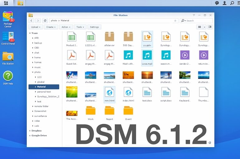 DSM 621 770x511 - Synology DSM 6.2.1