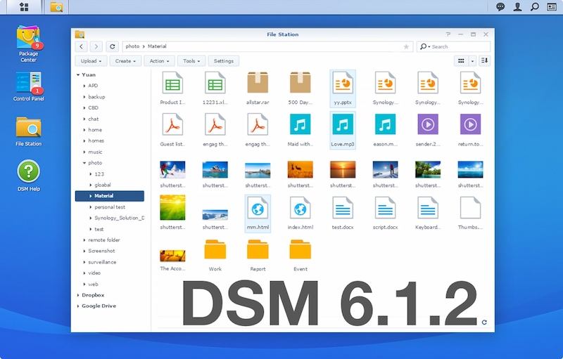 DSM 621 - Synology DSM 6.2.1