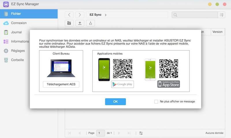 EZ Sync - NAS - Asustor ADM 3.2 est officiellement disponible pour tous