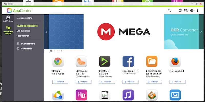 HD Station 1 - QTS 4.3.5 Beta est disponible pour les NAS QNAP mais...