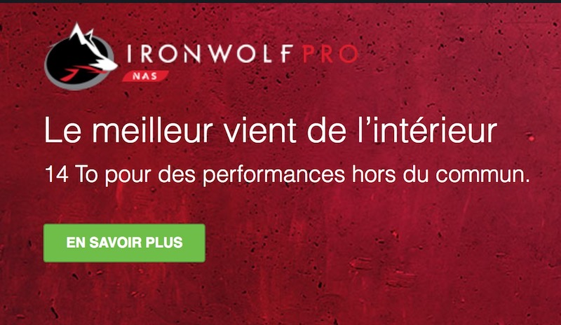 IronWolf 14To - Disques durs Seagate 14 To