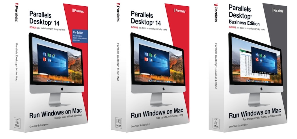 Parallels 14 - Parallels Desktop 14 : Plus vite, plus haut, plus fort...