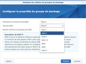 RAID 300x223 - Synology - Groupe de stockage et volume