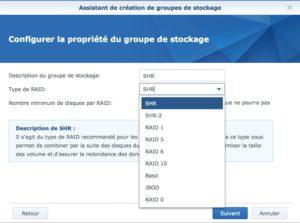 SHR RAID 300x223 - Synology - Groupe de stockage et volume