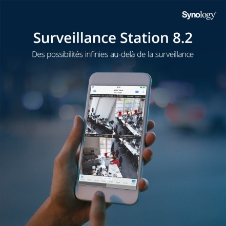Surveillance Station 82 - Synology lance Surveillance Station 8.2