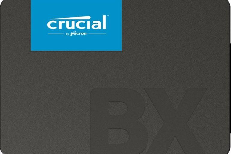 crucial bx500 770x513 - Crucial annonce un nouveau SSD BX500
