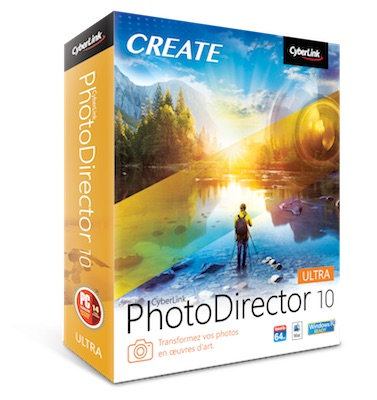photodirector 10 - CyberLink lance PowerDirector 17, ColorDirector 7, AudioDirector 8 et PhotoDirector 10