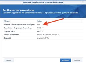 synology groupe stockage RAID 300x222 - Synology - Groupe de stockage et volume