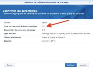 synology groupe stockage SHR 300x222 - Synology - Groupe de stockage et volume