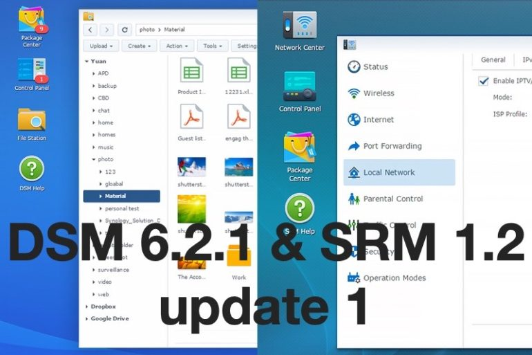 DSM SRM update1 770x513 - Brèves : Mises à jour chez Synology DSM & SRM