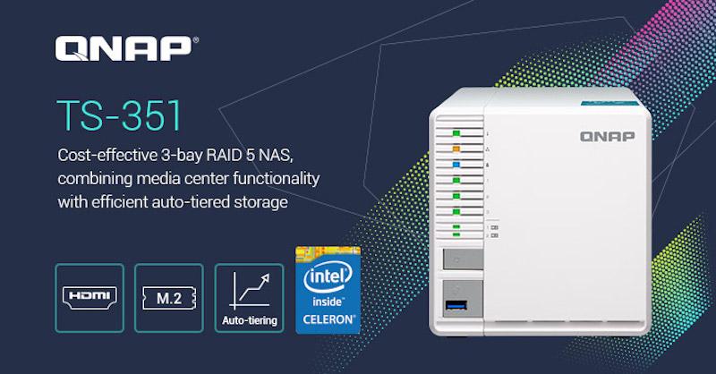 QNAP TS 351 - QNAP TS-351 est annoncé officiellement