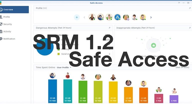 Safe access 770x417 - Synology SRM 1.2 - Safe Access