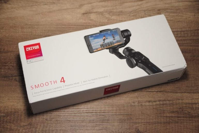 Test Zhiyun Smooth4 770x513 - Prise en main du Zhiyun Smooth 4 (stabilisateur 3 axes)