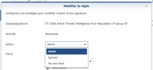 ThreatPrevention RegleCustom 300x137 - Synology SRM 1.2 - Threat Prevention