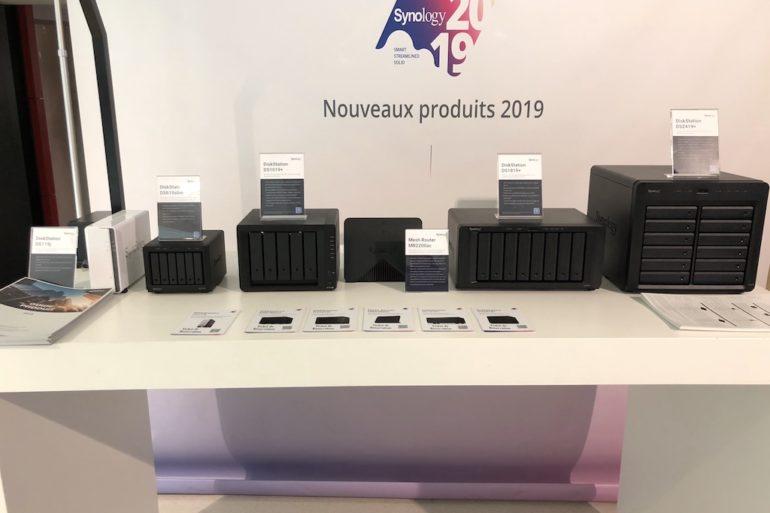 nouveaux NAS 2019 770x513 - Synology NAS DS619slim, DS1019+, DS1819+ et DS2419+
