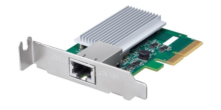 Buffalo lgy pcie mg 10gbits - Buffalo dévoile sa carte réseau PCIe 10 GbE