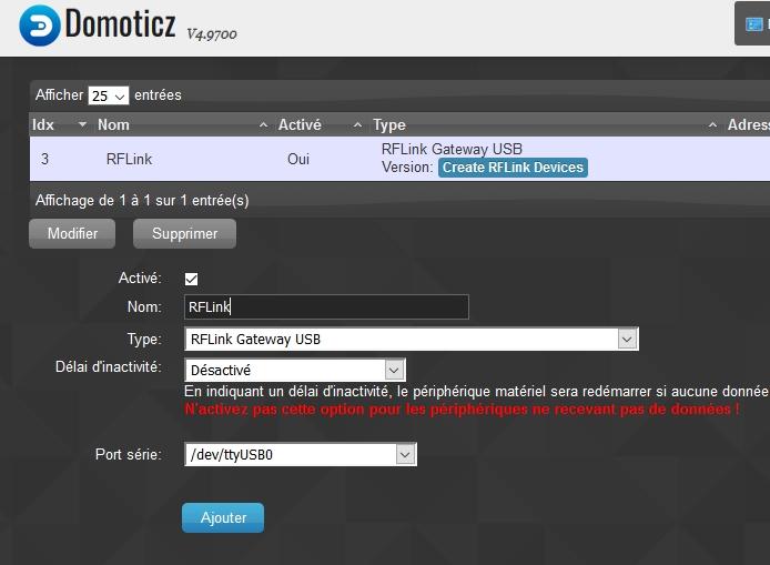 Domotique rflink 27 - RFlink / Domoticz débuter la domotique avec votre NAS Synology (DIY)