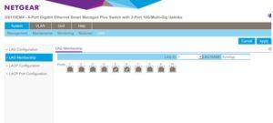 LAG Membership Netgear 300x135 - Agrégation de liens et NAS Synology