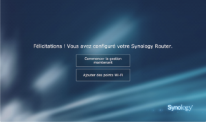 MR2200AC Welcome 06 300x179 - Synology MR2200ac - Prise en main du Mesh Router