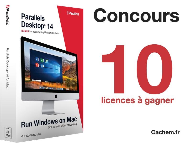 concours parallels - Concours Parallels Desktop 14 [Partenariat]