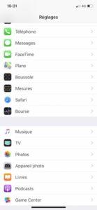 reglages 139x300 - iPhone : Photos HEIC ou JPG pour DxO ?