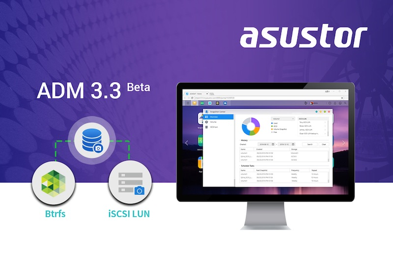 ADM 3.3 beta - Asustor propose ADM 3.3 Beta