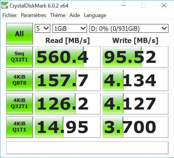 Crystal lacie ssd - Test LaCie Portable SSD 1To
