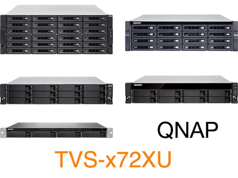 QNAP TVS x72XU - QNAP annonce la sortie de la série NAS TVS-x72XU