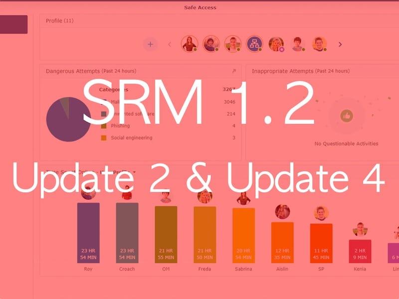 SRM 12 U4 - Synology met à jour ses routeurs avec SRM 1.2 Update 4
