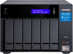 TVS 672XT 300x223 - NAS QNAP TVS-x72XT : processeur Intel 8e génération, HDMI 2.0, 10GbE, Thunderbolt 3...