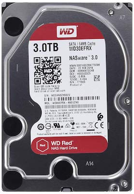 WD RED 3To - Noël Geek - Idées pour le Stockage...