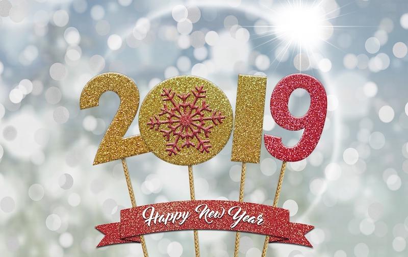 bonne annee 2019 - L'équipe Cachem vous souhaite une bonne année 2019 !