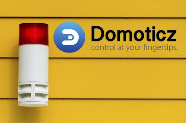 miniature 770x513 - Créer une alarme avec Domoticz (Partie 2 : Paramétrage)