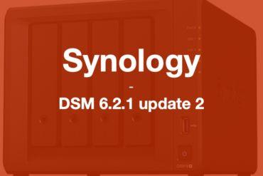 synology DSM6212 370x247 - Brève - Synology met à jour ses NAS : DSM 6.2.1 update 2