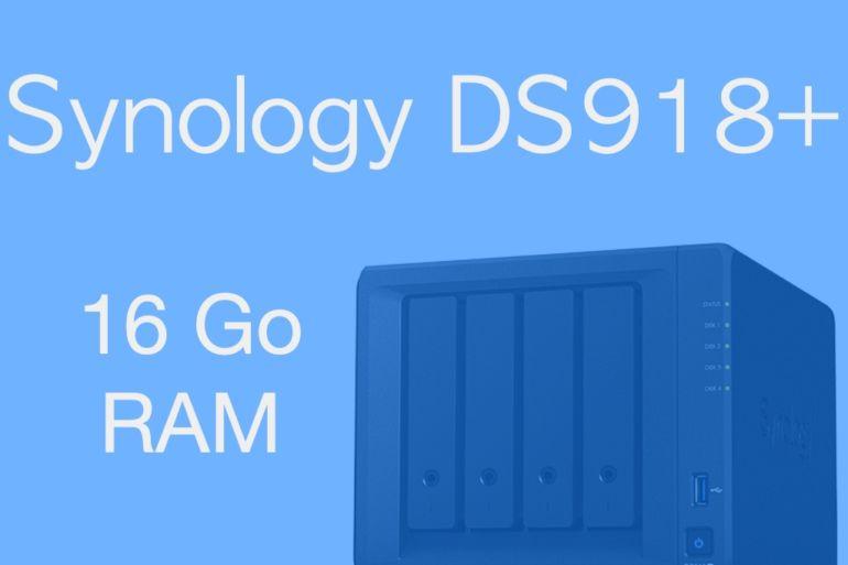 16Go RAM Synology DS918 770x513 - 16Go de RAM dans un NAS Synology DS918+ : Oui c'est possible...