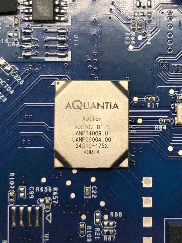 Aquantia AQC107 B1 C - Synology E10G18-T1